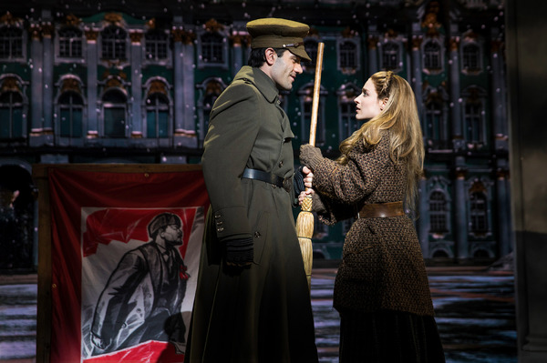 Anastasia Production Photo - Ramin Karimloo and Christy Altomare